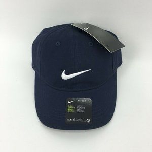 Nike Boys 4-7 Cap Adjustable Hat Navy Blue NWT